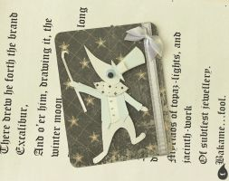 Excalibur bookmark. by MonotoneInkwell