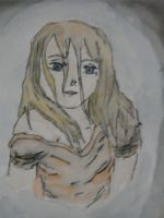 Water color Girl by AnOpinionToHear123