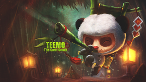 Teemo Wallpaper by SuppyArts