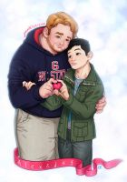 Jay and Alex Commission s by CamiFortuna