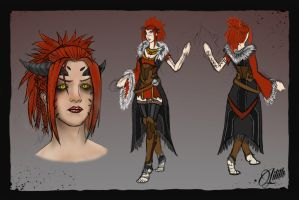 Lilith Final Design by Magmabolt