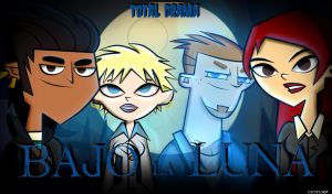 Total Drama: Bajo la Luna (wallpaper) by Escope3456