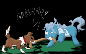 Winona Vs. Barking Pony by Shadestars