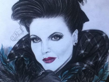 The Evil Queen Parrilla by patydurcal