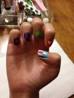 Avengers Nail Art part 1 by WarriorNun