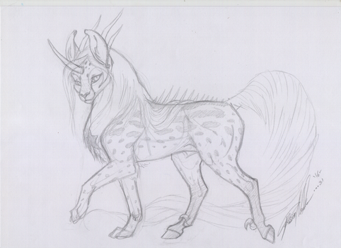 Sketchy study toony by moonfeather