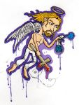 Graffiti Angel by chaosandcartoons