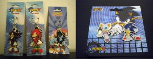 Sonic Keychains and Pins by Fuzon-S
