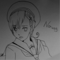 Norway drawing by Dodo-pink