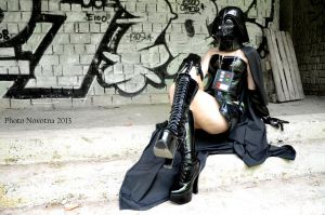 Darth Vader in latex by PhotoNovotna