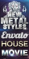 New Metal Styles by designercow