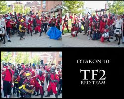TF2 Photoshoot- Red Team by xXOnigamiXx