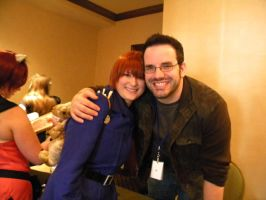 me and J. Michael Tatum by rachel-the-owl