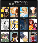 2015 of art Meme by aulauly7