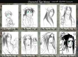 Age Meme: Ezidran Ravenloth by Hallowrook