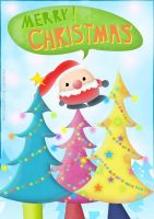 Little Santa by caranette