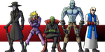 Chaos Corp Villains by dalubnie