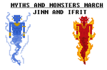 Jinn and Ifrit by TheRedNightDog