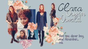 Clara Oswin Oswald wallpaper by HappinessIsMusic