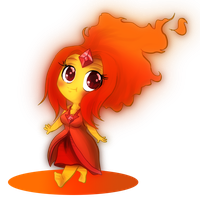 Flame Princess by k12hanchi