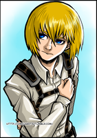 Armin Arlert of Shingeki no Kyojin by omegasama