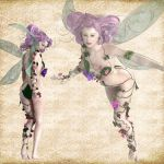 Porcelin Fae Set 02 by Just-A-Little-Knotty