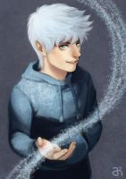 COMMISSION: Jack Frost by villainesayre