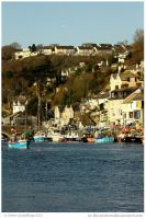 Looe View by In-the-picture