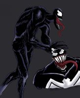 Venom Sketches by Redvolver