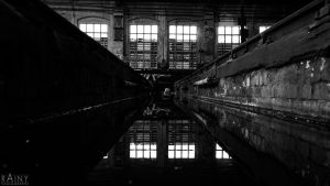 Lost Place Roundhouse #7 by Rainyphoto