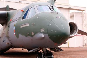 Embraer KC-390 by Oxygino