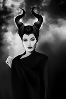 angelina jolie | maleficent by saeedgraphix
