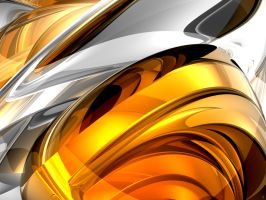 Abstract gold by Kavel-WB