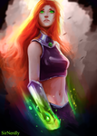 Starfire by SirNerdly