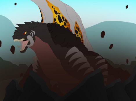 Rise of the Lava Kaiju by Pyrus-Leonidas