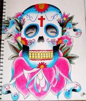 Sugar Skull by Vicki-Death