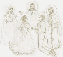 Holy Matrimony - 2013 Work in Progress by artelizdesouza