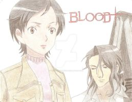 Blood Plus bg drawing by tegd33fanartist