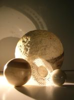 Spheres and Light 3 by SanStock