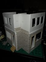 Les Shoppes Dollhouse Project: WIP 8 by kayanah