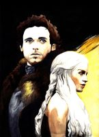 Game of Thrones: Of Fire and Ice by RyesAsylum27