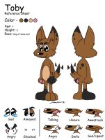 Toby Ref 1 -  Colored by ideallyRANDOM