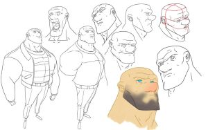 Model sheet : Mike by HughFreeman