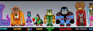 D6- Ally Lineup by Lordwormm