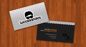 Personal Business Card by LucasSandes
