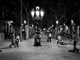 A night in Barcelona by Hadcorp
