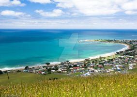 Apollo Bay Town View by addr010