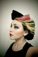 Dieselpunk Stewardess Hair by soullessYUMEIRU