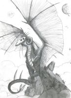 Macabre dragon by Dracohoudini