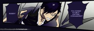 Hisagi ch504 color by FoxedPeople
